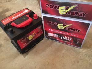 DIN45mf 12V45ah Maintenance Free Lead Acid Car Storage Battery pictures & photos