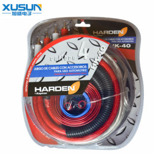 Transparent Corlorful Flex Audio Cable