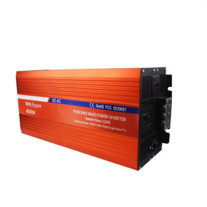 Hyb-4000 Pure Sine Wave Power Inverter with Bypass pictures & photos