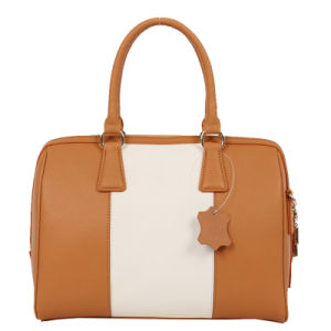 New Arrival Fashion Women Classic Styling Leather Handbag (50020A) pictures & photos
