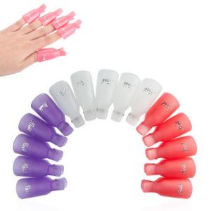 10 PCS/Lot Gel Polish Remover UV Nail Degreaser Nails Soak off Cap Clip
