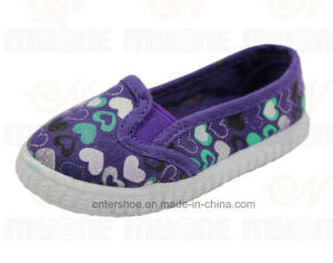 Nice Toddler Kids′s Injection Canvas Shoes (ET-MY170433K) pictures & photos