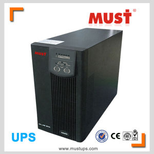 2kVA DC to AC Pure Sine Wave LCD Display Online UPS pictures & photos