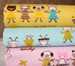 Cotton Flannel/Brushed Fabric/Printed Animal Fabric