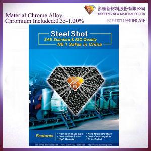 Unique Chromium Alloy Steel Shot for Shot Blasting