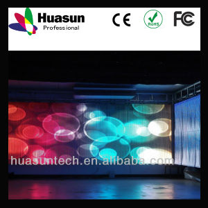 Pitch 20mm Transparent LED Strip Display