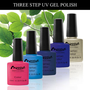 Long Lasting Pure Gel Colour UV Gel Polish 10ml Three Steps Nail Art pictures & photos