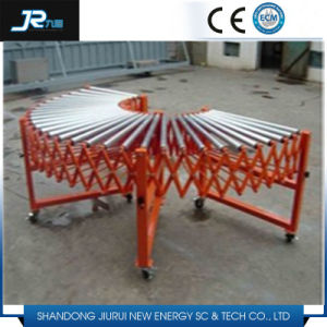Elastic Steel Roller Conveyor for Production Line pictures & photos