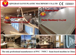 PVC Skinning Foam Board Extruding Line pictures & photos