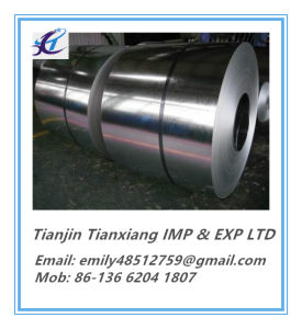 Flat Product ASTM A653 Soft Full Hard Galvanized Steel Coil pictures & photos