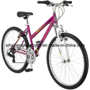 Mountain Bike Bicycle 26 Suspension Frame Full Suspension Womens 18 Speed Bikes pictures & photos