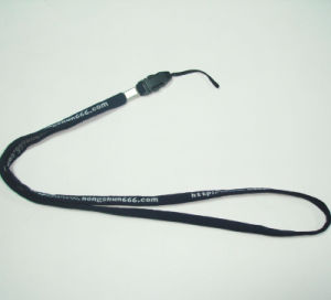 Customized Woven Tube Polyester Lanyards pictures & photos
