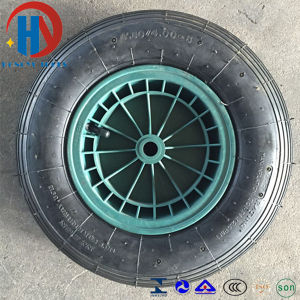 Wheel Barrow Pneumatic Rubber Wheel Tire 4.00-8 pictures & photos