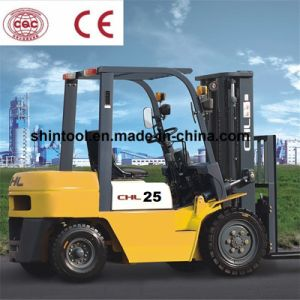 2.5 Tons Diesel Forklift Price with Japanese Isuzu Engine (CPCD25) pictures & photos