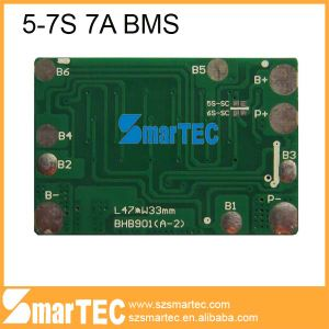 7s Li-ion PCB for 25.9V Battery Pack