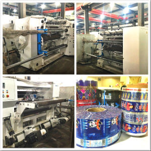 High Speed Slitting Machine Cutting Machine for Plastic Film (GSFQ1300 Model) pictures & photos