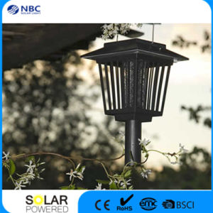 1PC White+2PCS Purple LED Solar LED Lamp pictures & photos
