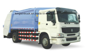 Sinotruk Brand Refuse Truck/Compactor Garbage Truck with 16m3 pictures & photos