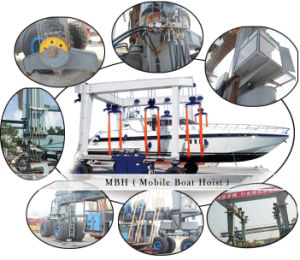 Factory Manufacturing Mobile Yacht Hoist Gantry Crane pictures & photos
