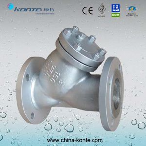 API Flanged Y Type Strainer pictures & photos