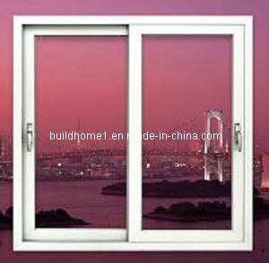 Shower Room Aluminium Sliding Windows with Opaque Glass pictures & photos