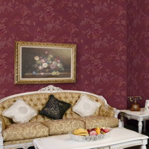 High Quality Heavy Embossed PVC Wallpaper (Windsor 1206) pictures & photos
