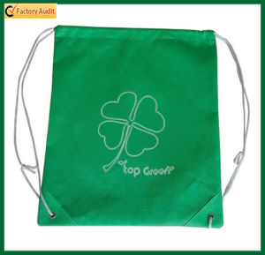 Promotional PP Non Woven Fabric Drawstring Bag (TP-BP028) pictures & photos