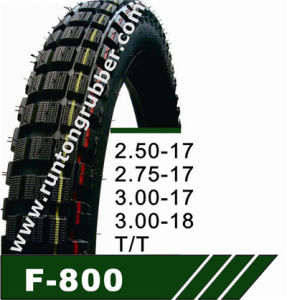 Motorcycle Tire or Motorcycle Tire 3.00-17 3.00-18 pictures & photos