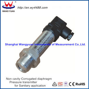 China Manufacturer Non-Cavity Flush Diaphragm Pressure Transmitter / Pressure Transducer pictures & photos