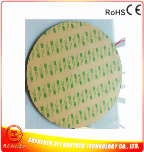 Silicone Rubber Heater for 3D Printer 220V 250W Diameter 300*1.5mm pictures & photos