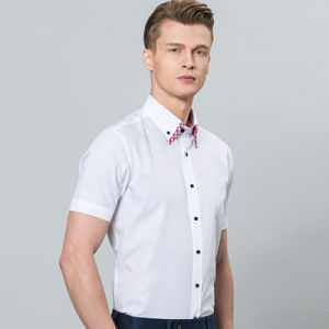 2016 Summer New Design Non-Ironing Men′s Short Sleeves Slim Fitting Shirt for Men pictures & photos