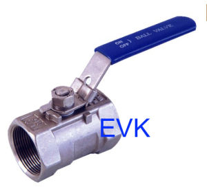 1/2/3PC Threaded Ball Valve (EVK- VALVE)