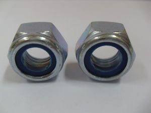 Prevalling Torque Type Hexagon Thin with Nuts with Nonmetallic Insert M12