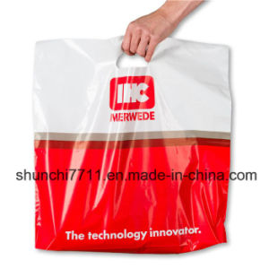 Shunchi Plastic Shopping Bag with Handle pictures & photos