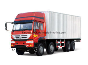 Golden Prince Brand 8X4 Driving Type Euro 2 Cargo Truck pictures & photos