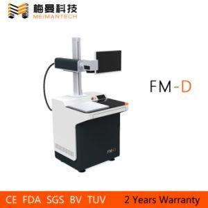 Factory Supplier Portable Mini Fiber Laser Machine, Laser Marking Machine Fiber for Bamboo, Stainlfess Steel pictures & photos