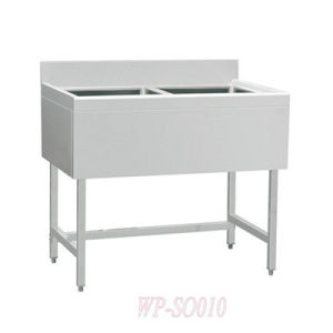 Stainless Steel Double Sinks with/Without Under Shelf-European Style pictures & photos