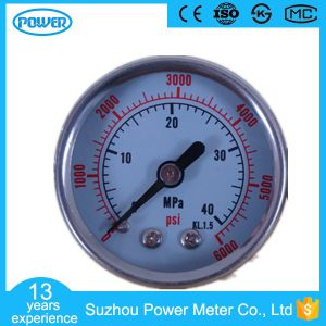 40mm Back Connect Stainless Steel Case Manometer pictures & photos