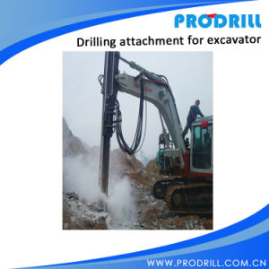 Pd90 Hydraulic Excavator Mounted Rock Drilling for Borehole Drilling pictures & photos