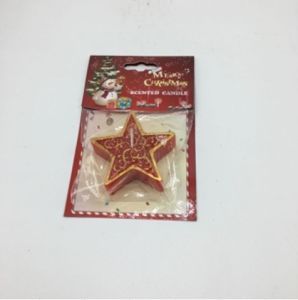 Five Star Shape Red Candle for christmas Decoration pictures & photos