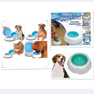 Pet Chilled Food Feeder for Dog Cat (VD15005)