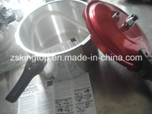 LPG Pressure Cooker for Home Use Red Cover