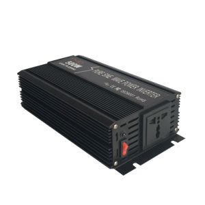 DC12V/24V Solar DC to AC 500W Power Inverter with Ce Approval pictures & photos