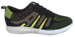 Ladies Women Gym Sports Shoes Flyknit Woven Upper (515-6744) pictures & photos