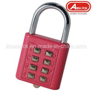 Tactile Push-Button Combination Padlock (511) pictures & photos