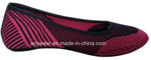 Flyknit Woven Footwear Women Casual Lifestyle Shoes (516-6998) pictures & photos
