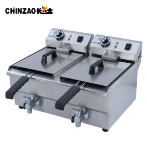 Commercial Double Tank Catering Equipment Frying Machine Fryer pictures & photos