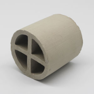 Ceramic Cross Partition Ring with Excellent Acid Resistance pictures & photos