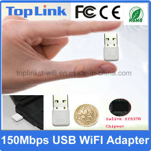 Professional China Supplier for Mini 150Mbps Low Cost USB Wireless Network Card WiFi Dongle pictures & photos