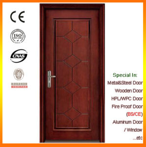 Black Walnut Insulation Door Smoke-Proof Door pictures & photos